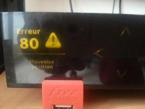 Aduf Voir Le Sujet Résolu Erreur 80 Affiché Freebox