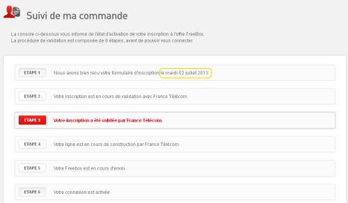 free bloque etape 4 france telecom
